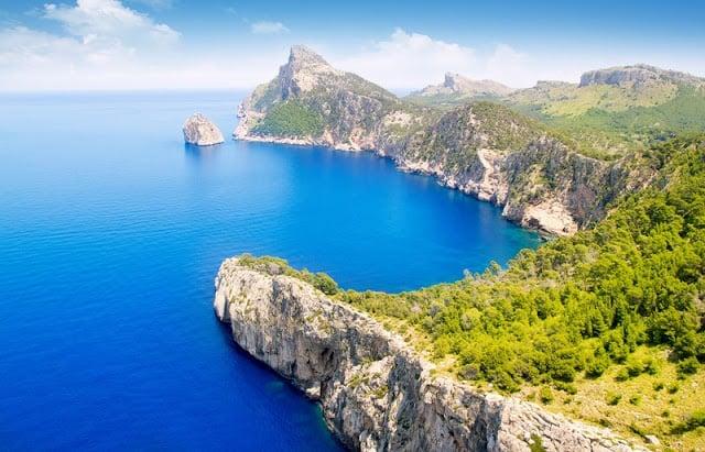 Cabo de Formentor en Mallorca