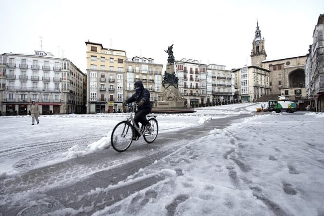 Ciudades con nieve en España